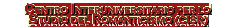Centro Interuniversitario per lo Studio del Romanticismo Logo